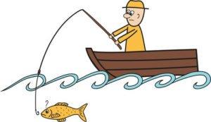 gelber Friesennerz als Signalfarbe für Fischer
